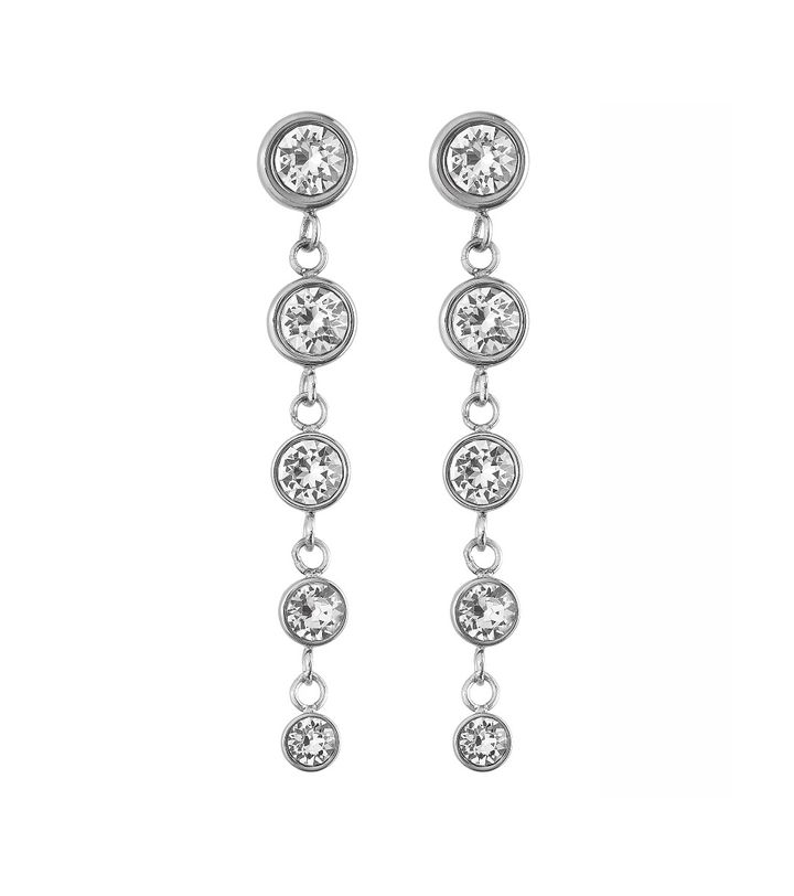Dew Drop Earrings Multi Steel