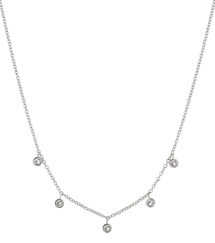 Dew Drop Necklace Multi Steel