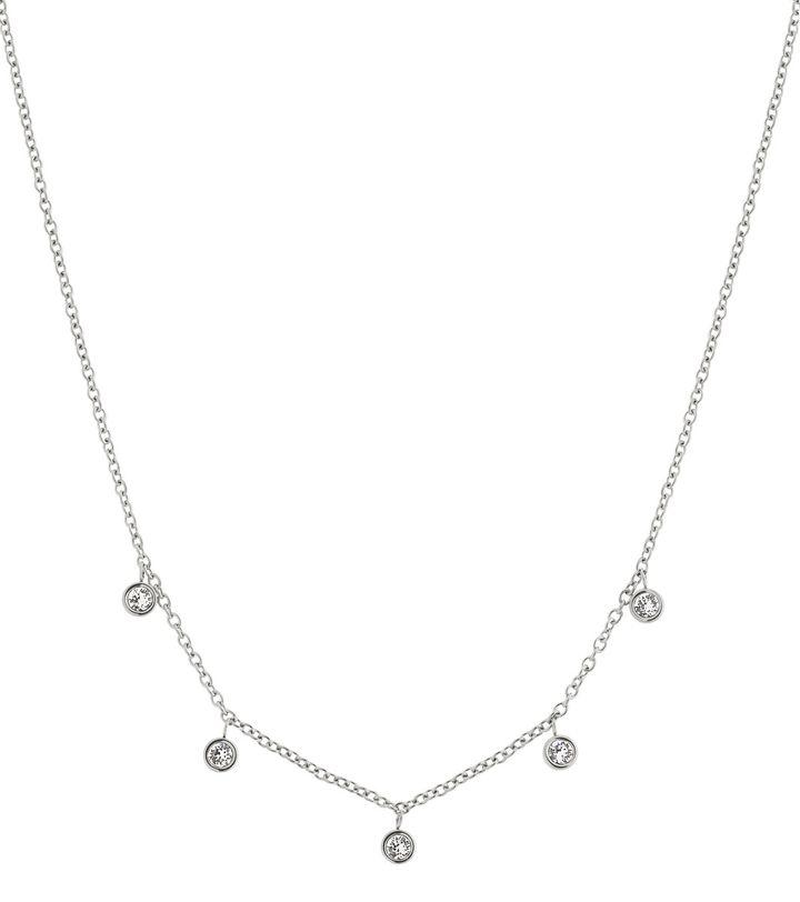 Dew Drop Necklace Multi Steel