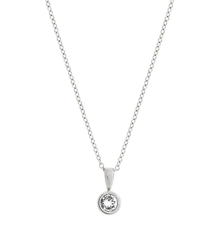 Dew Drop Necklace Steel