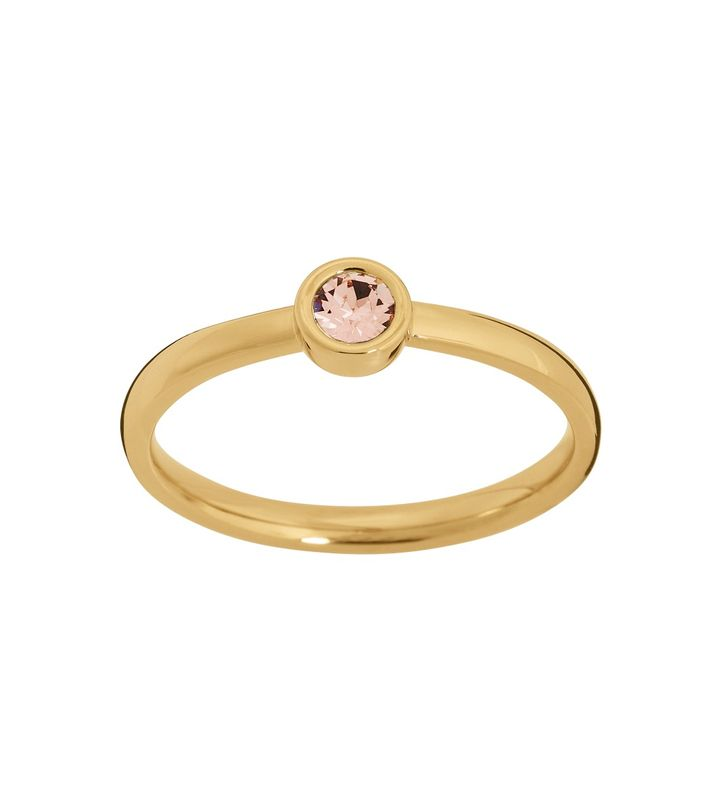 Dew Drop Ring Blush Gold