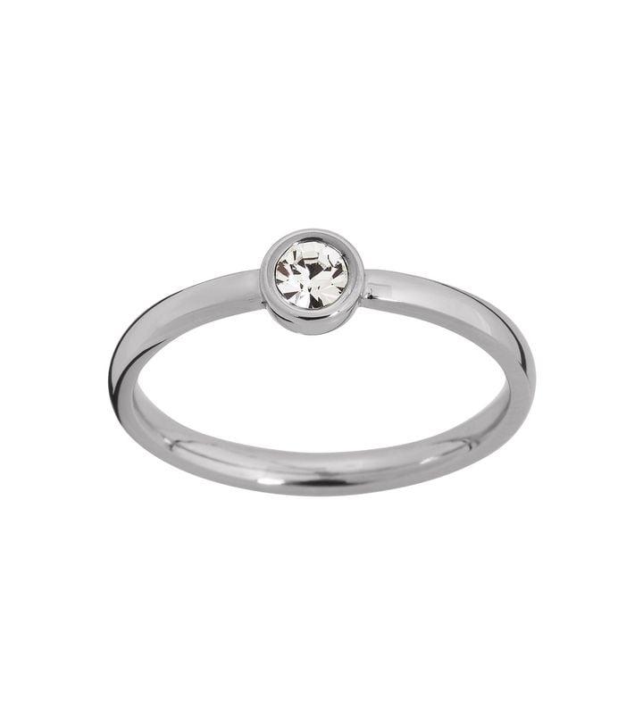 Dew Drop Ring Steel