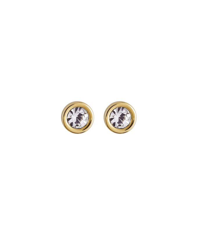 Dew Drop Studs Gold
