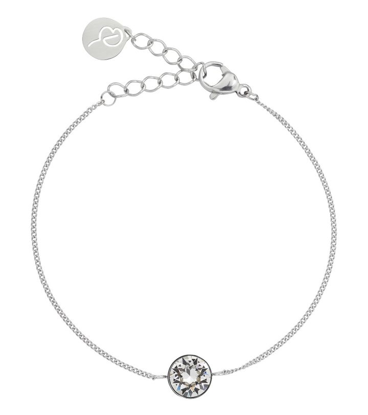 Diana Bracelet Clear Crystal Steel