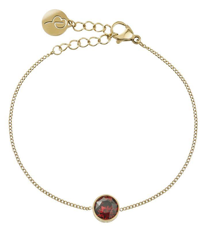 Diana Bracelet Plum Gold