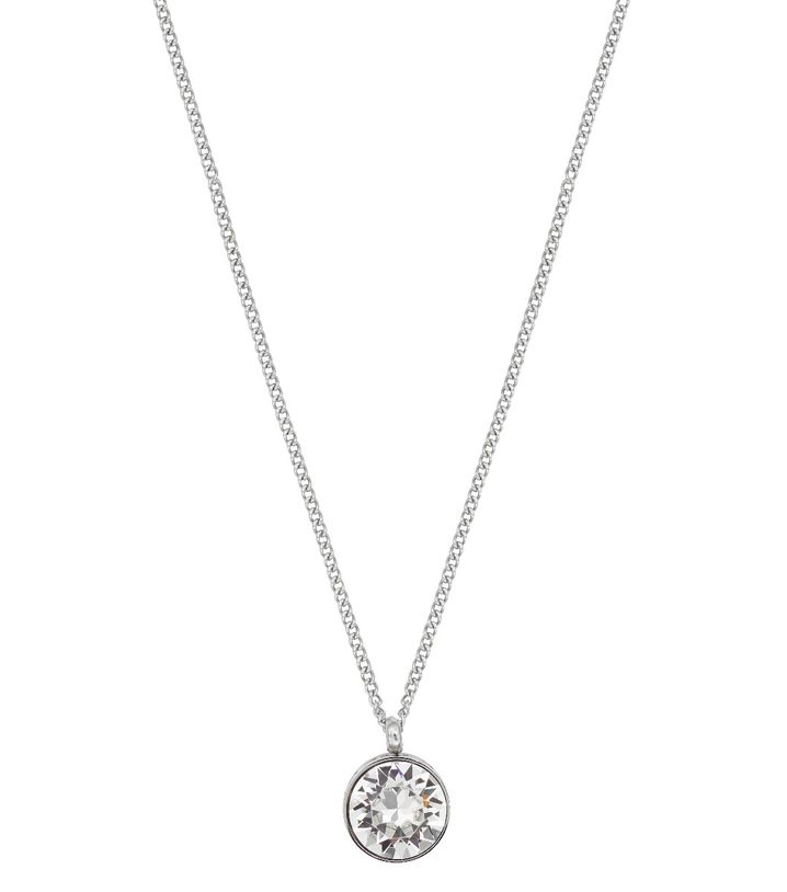 Diana Necklace Clear Crystal Steel