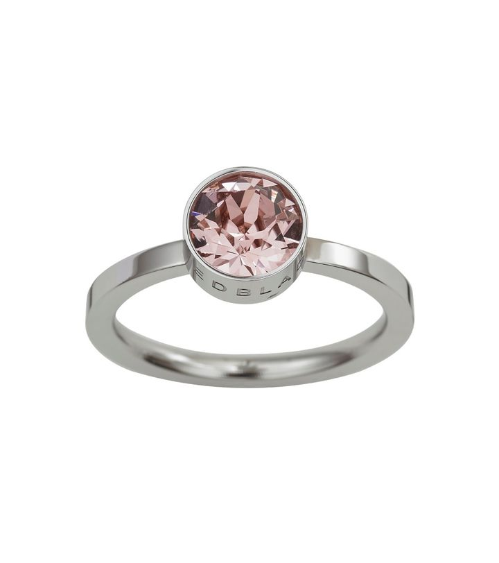 Diana Ring Bubble Gum Crystal Steel