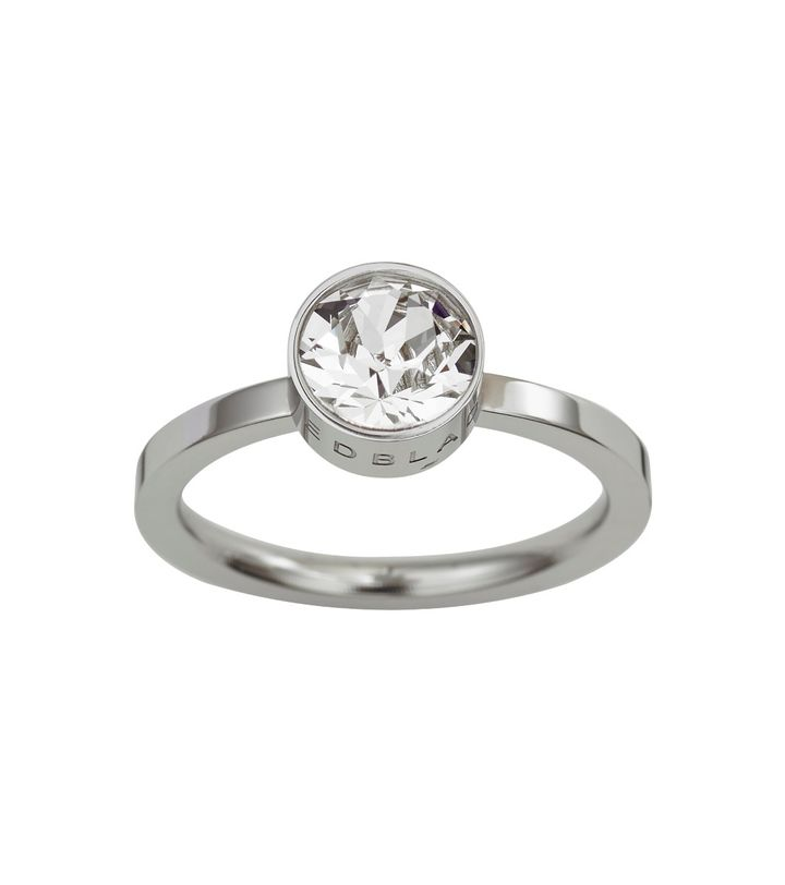 Diana Ring Clear Crystal Steel