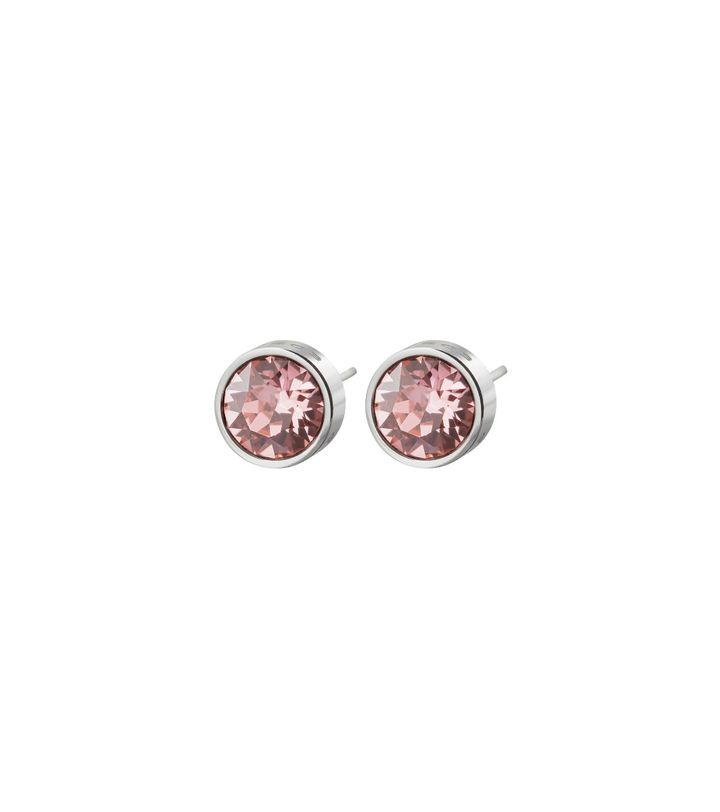 Diana Studs Bubble Gum Crystal Steel