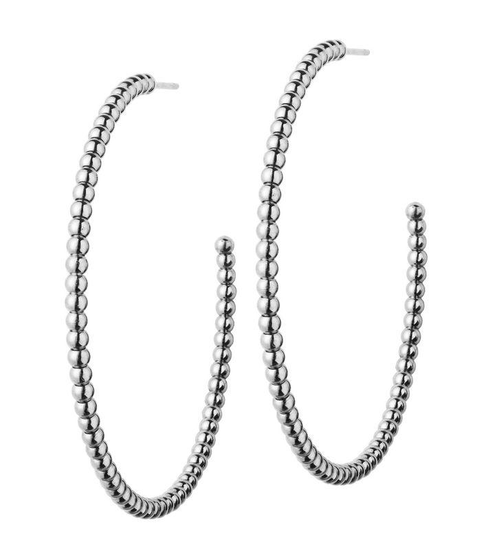 Domino Earrings Steel