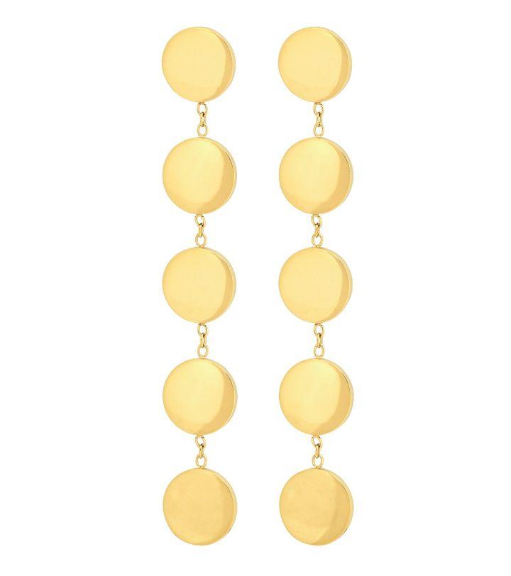 Dottie Earrings Multi Gold