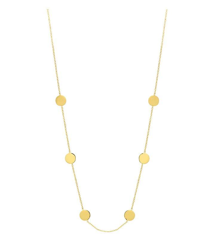 Dottie Necklace Multi Gold