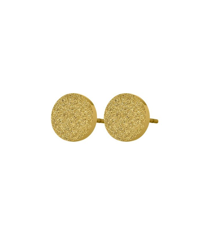 Dottie Studs Glittering Gold