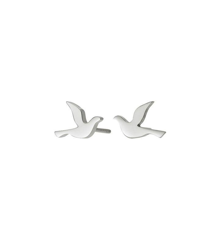 Dove Studs Small Steel