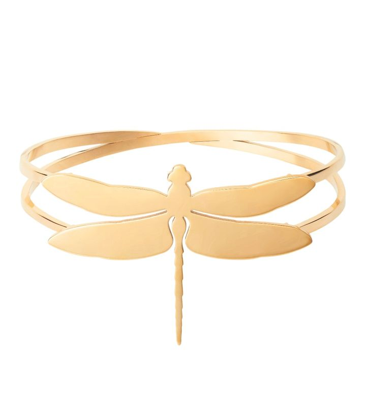 Dragonfly Bangle Gold