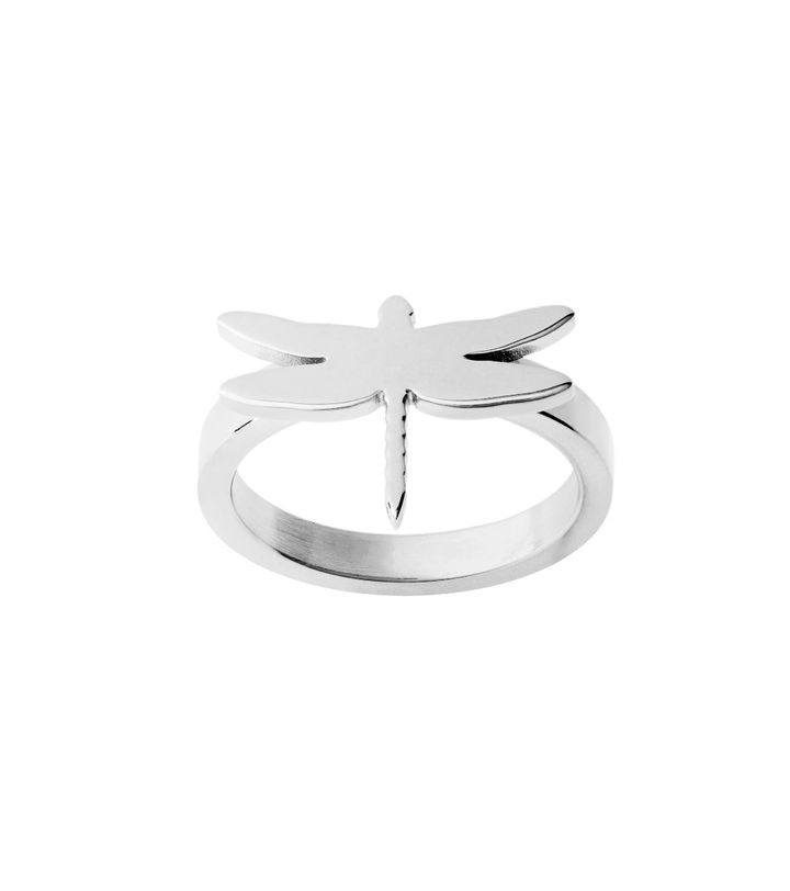 Dragonfly Ring Steel