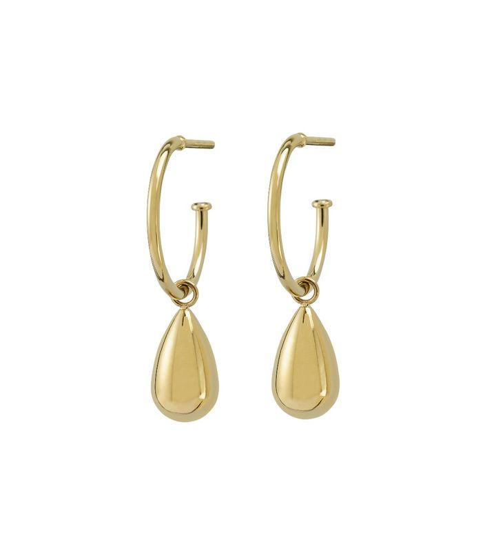 Drop Mini Earrings Gold