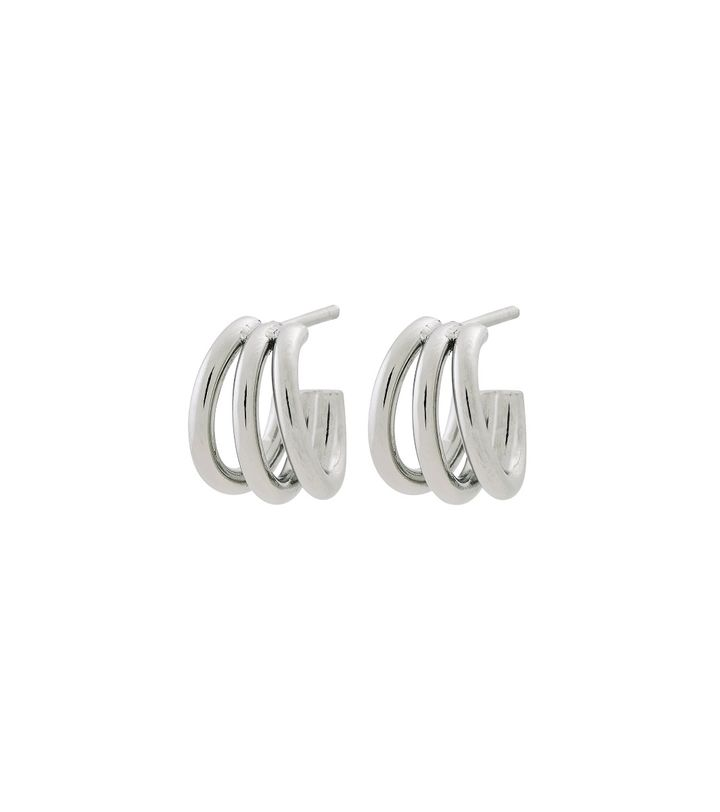 Echo Earrings Small Steel