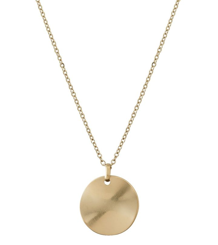 Elsa Necklace Long Matt Gold