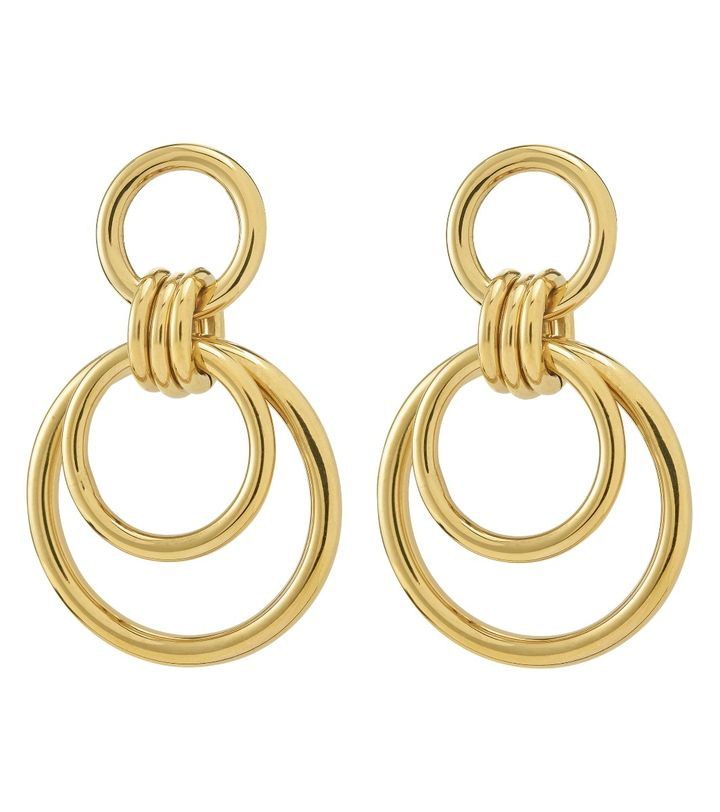 Elsie Earrings Large Gold