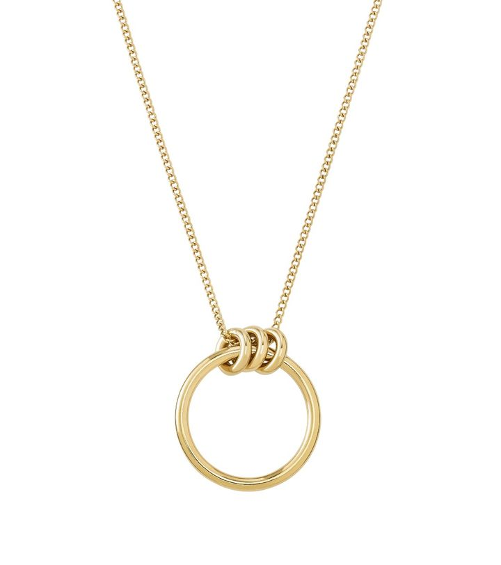 Elsie Necklace Long Gold