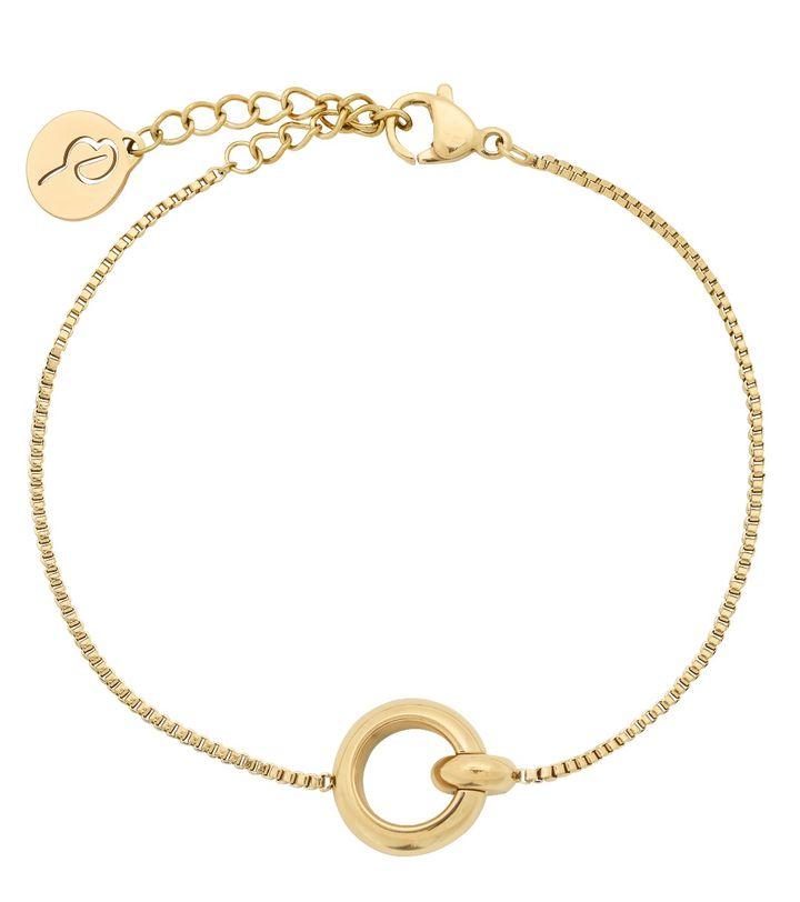 Enso Bracelet Gold