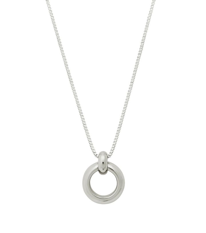 Enso Necklace L Steel