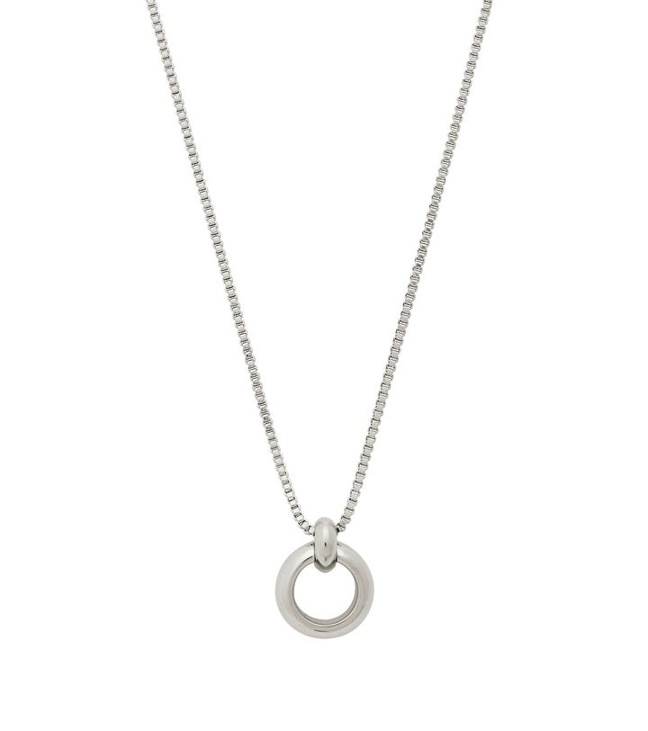 Enso Necklace Steel