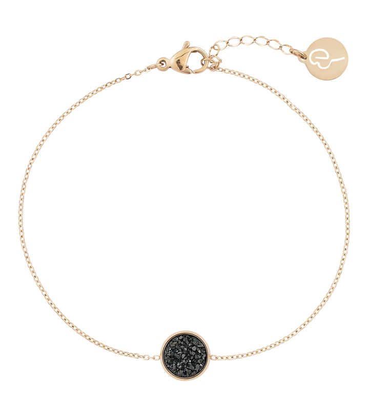 Estelle Bracelet Black Gold