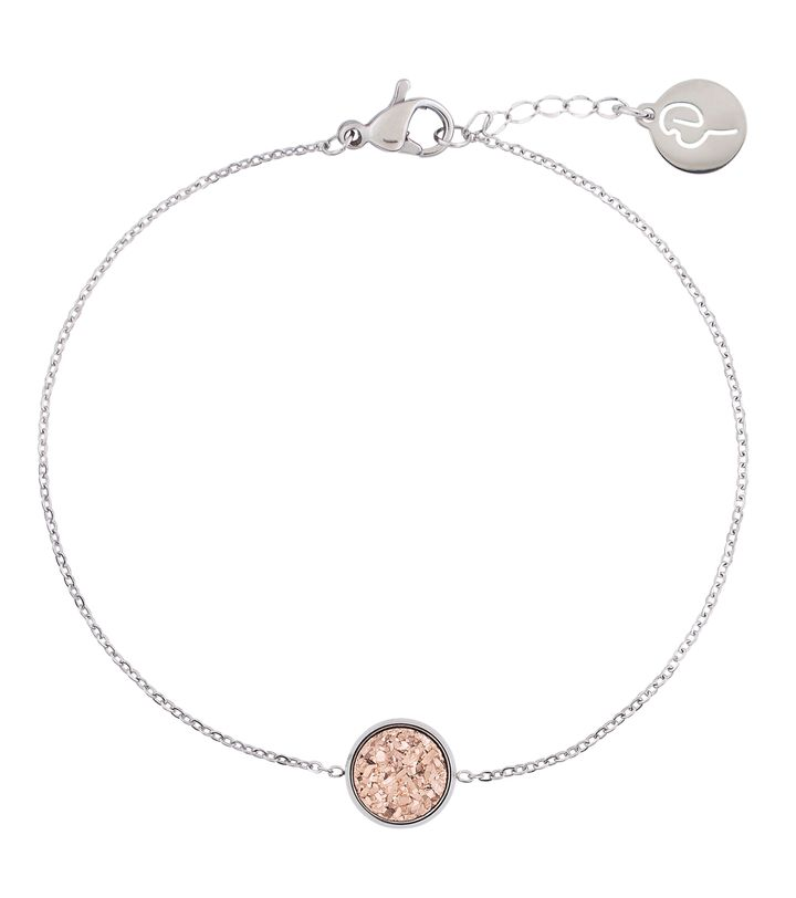 Estelle Bracelet Rose Steel