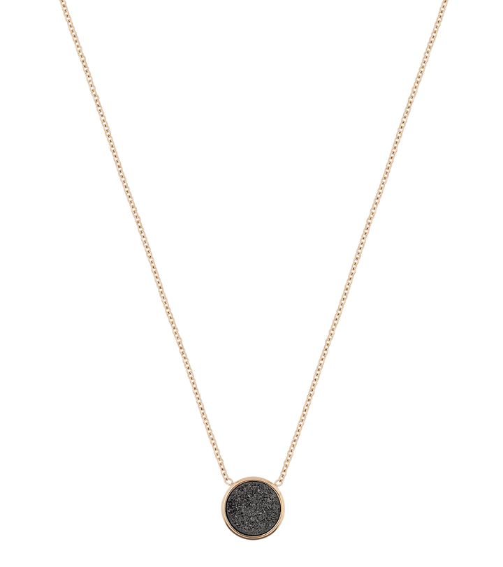 Estelle Necklace Black Gold
