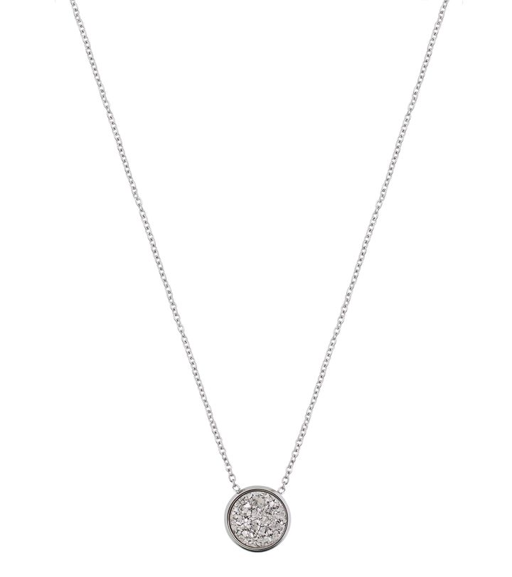Estelle Necklace Silvery Steel