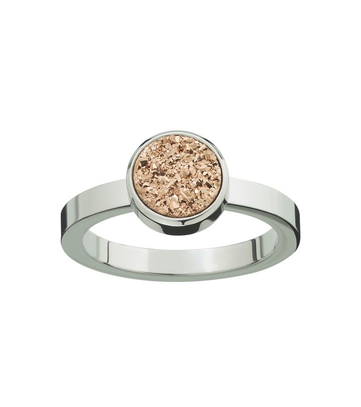 Estelle Ring Rose Steel