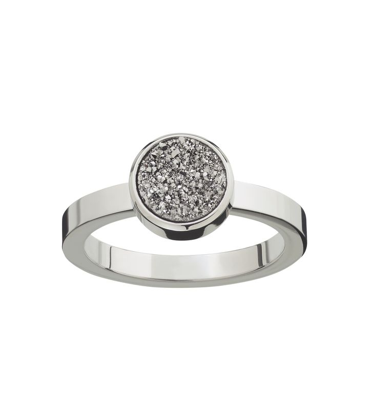Estelle Ring Silvery Steel