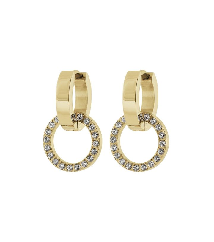 Eternal Orbit Earrings Gold