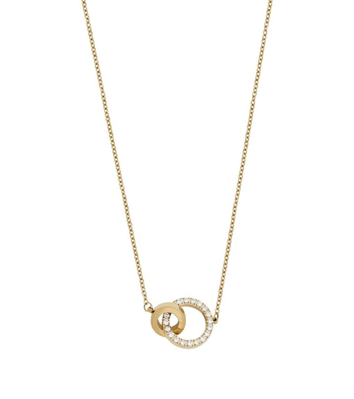 Eternal Orbit Necklace Gold