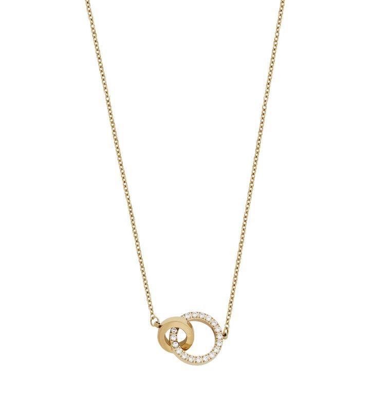 Eternal Orbit Necklace Gold