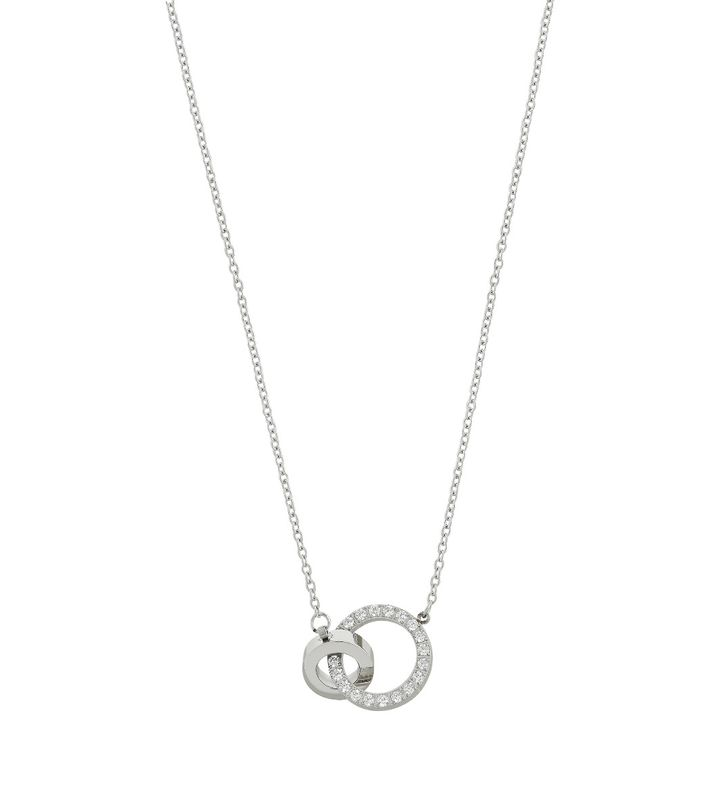 Eternal Orbit Necklace Steel