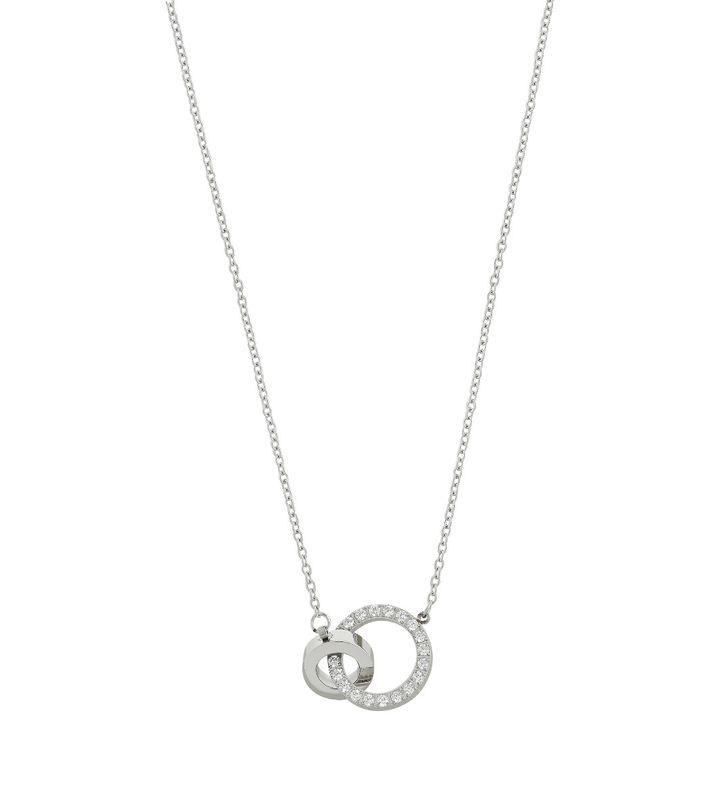Eternal Orbit Necklace Steel