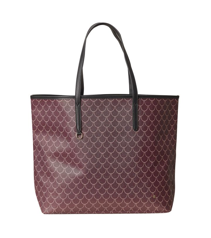 Evelyn Shopper Bag Bordeaux