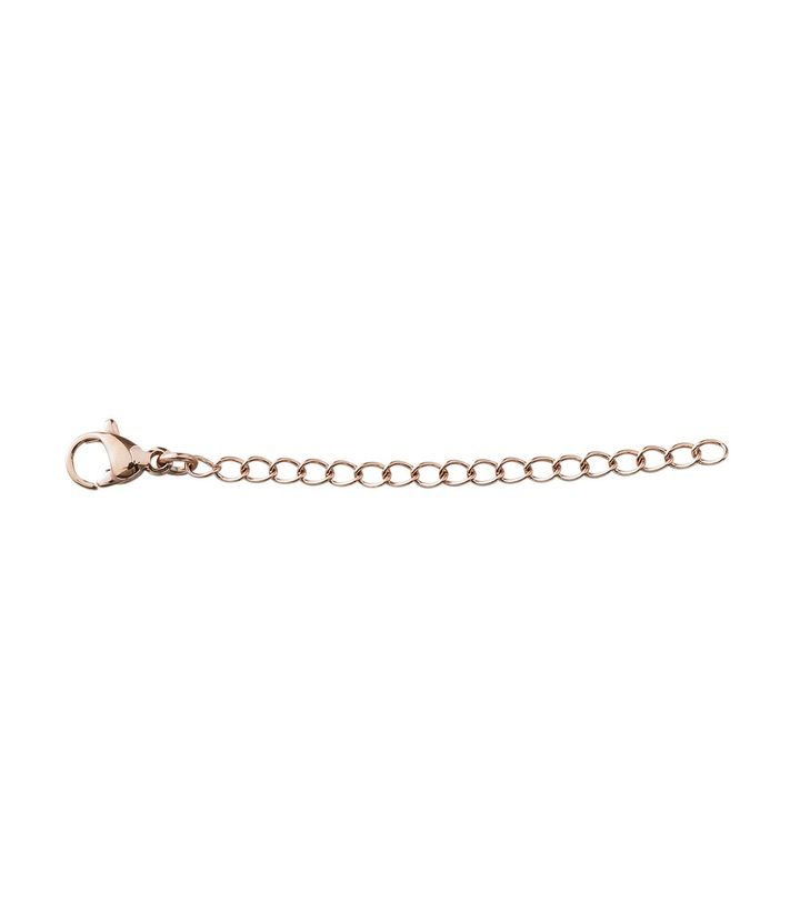 Extended Chain 5 cm Rose Gold