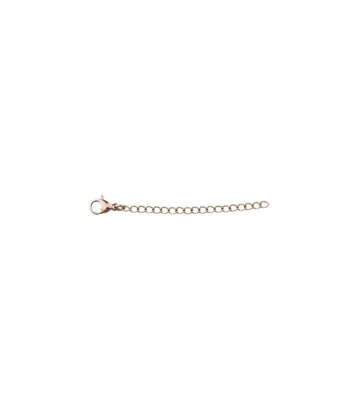 Extended Chain 5 cm Small Rose Gold