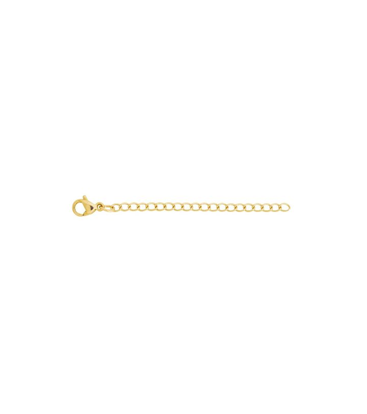 Extension Chain 5 cm S Gold