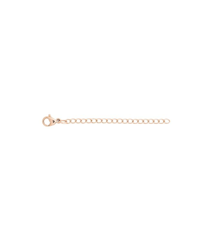 Extension Chain 5 cm S Rose Gold