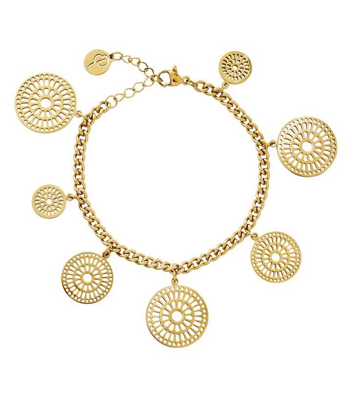 Farrah Bracelet Multi Gold