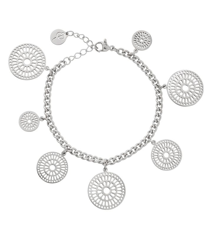Farrah Bracelet Multi Steel