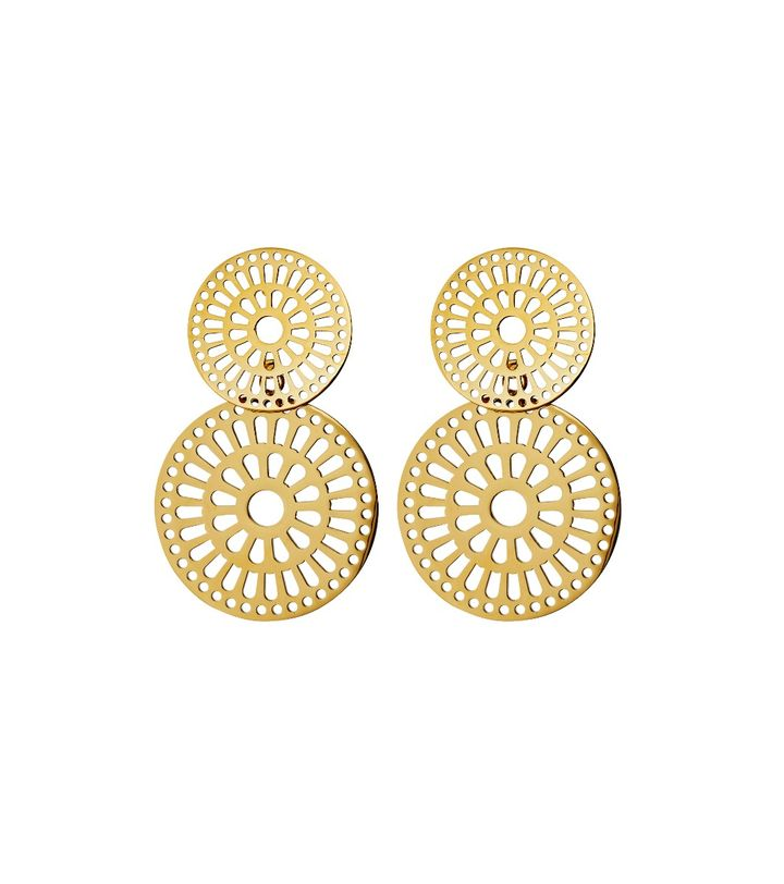 Farrah Earrings Gold