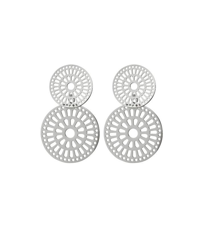 Farrah Earrings Steel