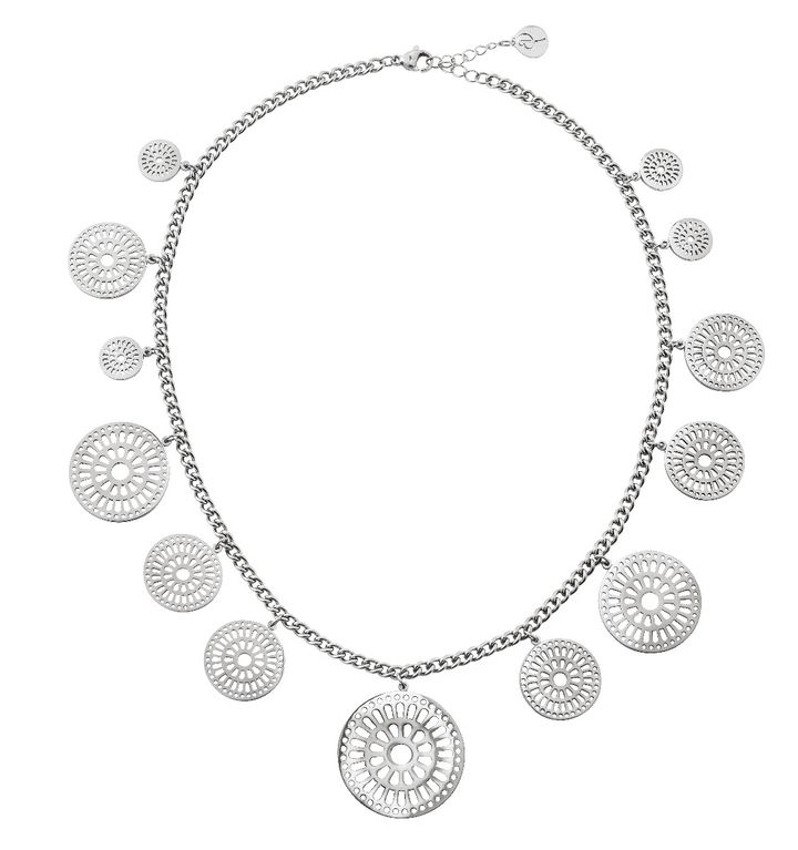 Farrah Necklace Multi Steel