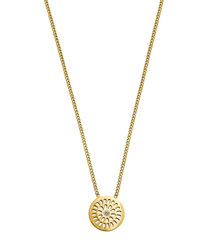 Farrah Necklace Short Gold